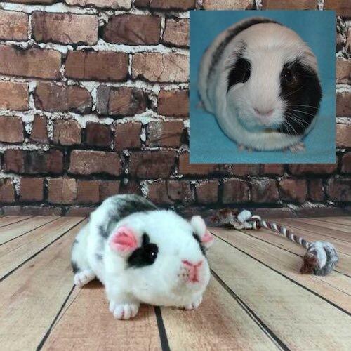 Hamster Stuffed Animal Plush Lookalike