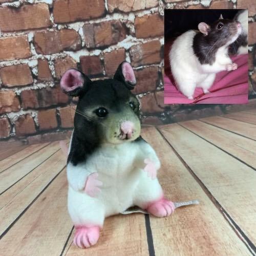 Hamster Stuffed Animal Plush