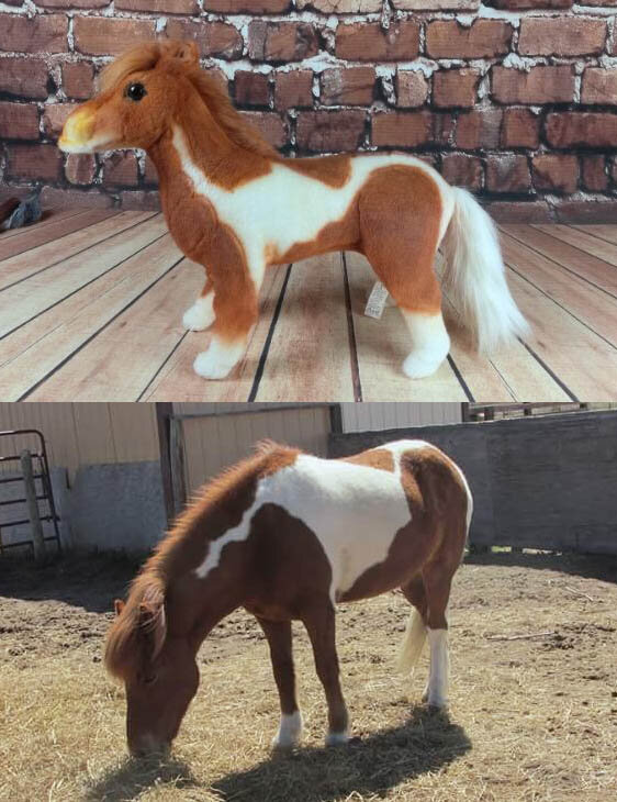 Horse Stuffed Animal Lookalike