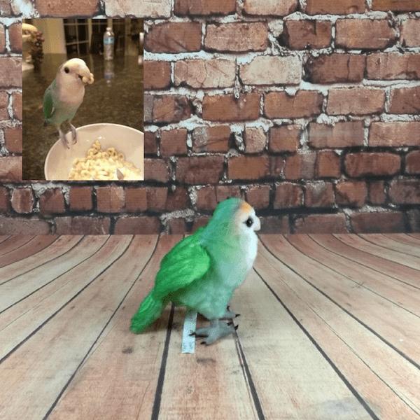 Bird Stuffed Animal Plush Lookalike Replica
