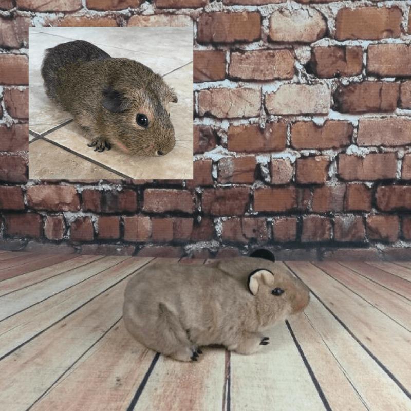 small hamster stuffed animal