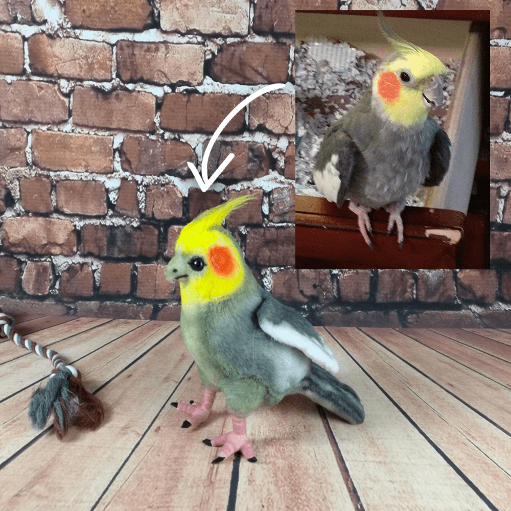 custom bird stuffed animal