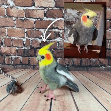 custom bird stuffed animal