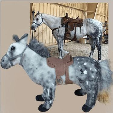 horse stuffed animal