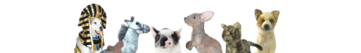 stuffed animals of your pets