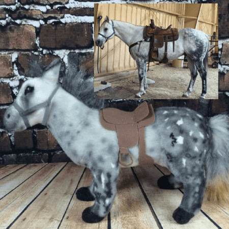 custom horse stuffed animal