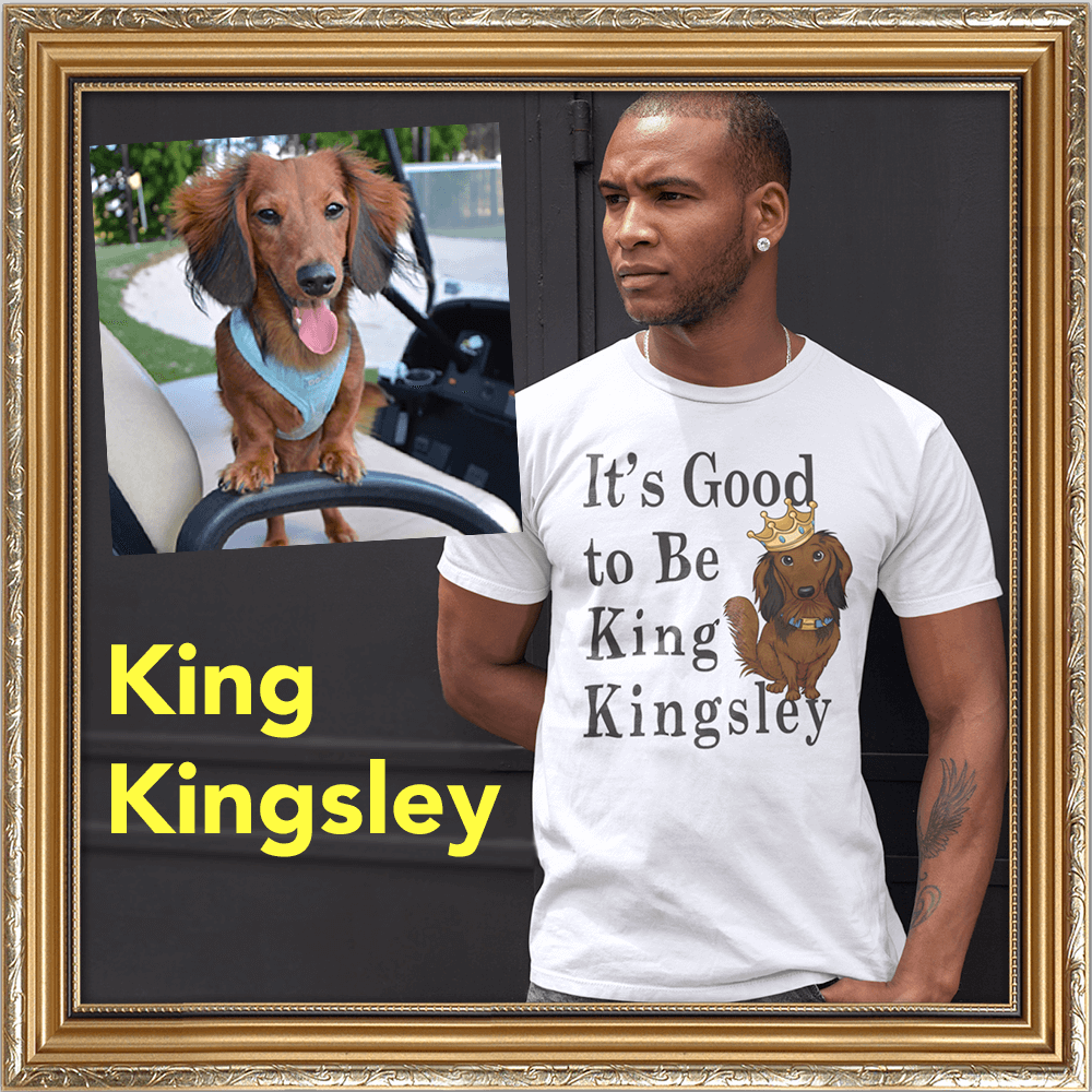 King Kingsley the Dachshund