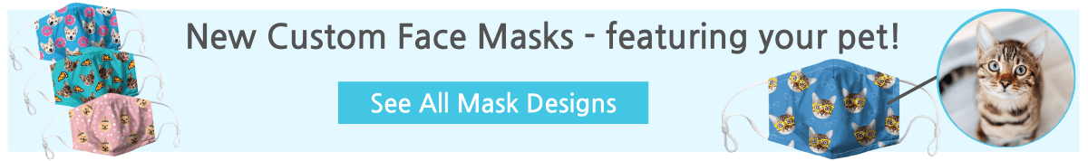 face masks with your pets face