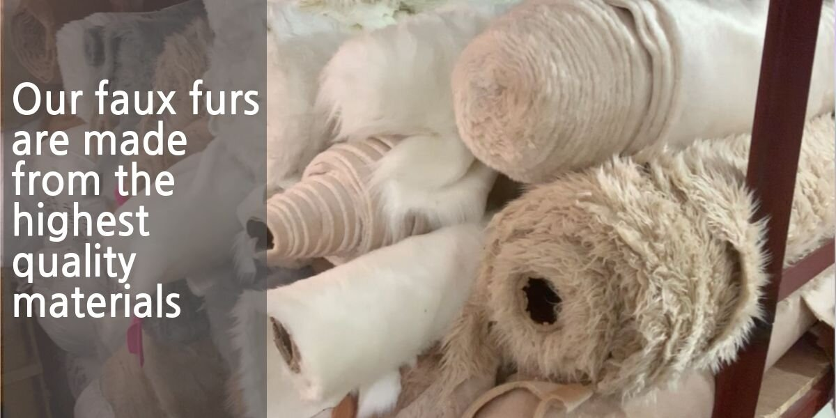 faux furs for pet stuffed animals